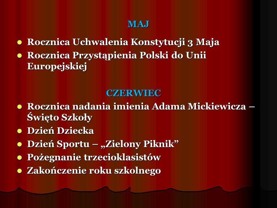 MAJ Rocznica Uchwalenia Konstytucji 3 Maja Rocznica Uchwalenia Konstytucji 3 Maja Rocznica Przystąpienia Polski do Unii Europejskiej Rocznica Przystąp