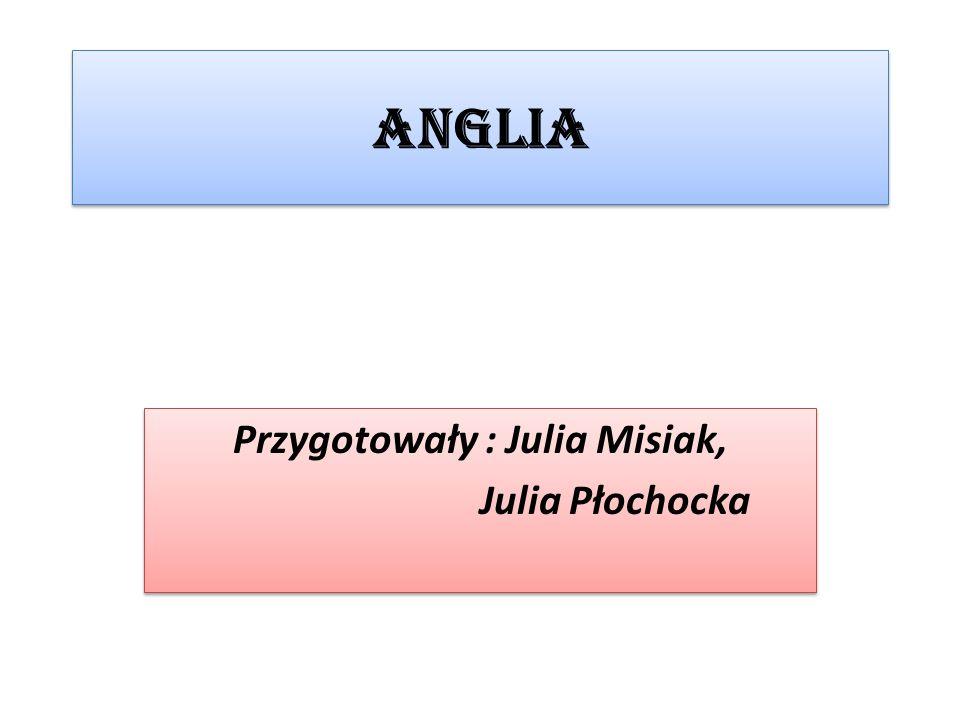 Anglia Przygotowały : Julia Misiak, Julia Płochocka Przygotowały : Julia Misiak, Julia Płochocka