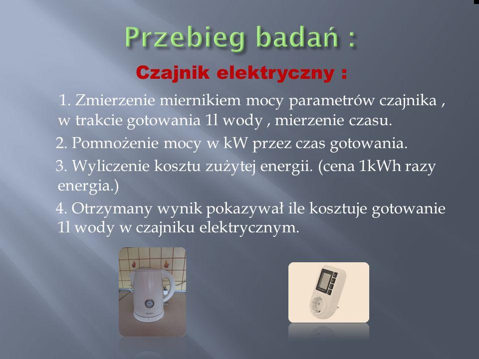 Czajnik elektryczny : 1.