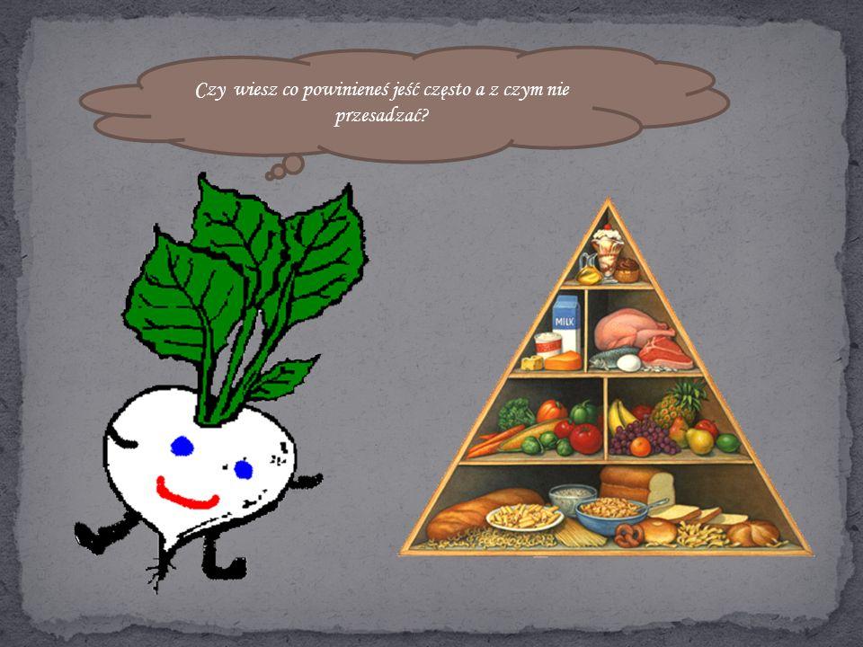 - Zamiast słodyczy jedz warzywa i owoce. - Jedz mniej, ale częściej.