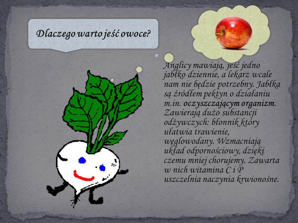 Anglicy mawiają, jeść jedno jabłko dziennie, a lekarz wcale nam nie będzie potrzebny.