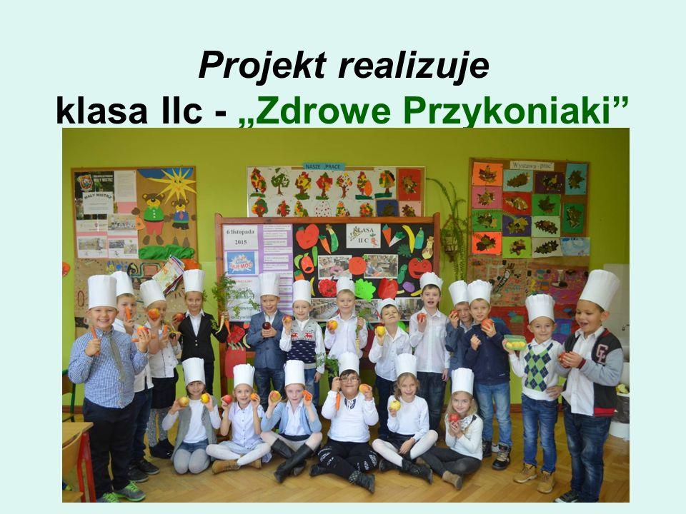 """Projekt realizuje klasa IIc - """"Zdrowe Przykoniaki"""