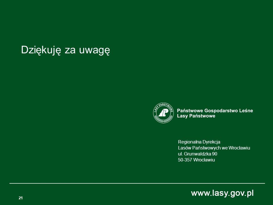 21 Regionalna Dyrekcja Lasów Państwowych we Wrocławiu ul.