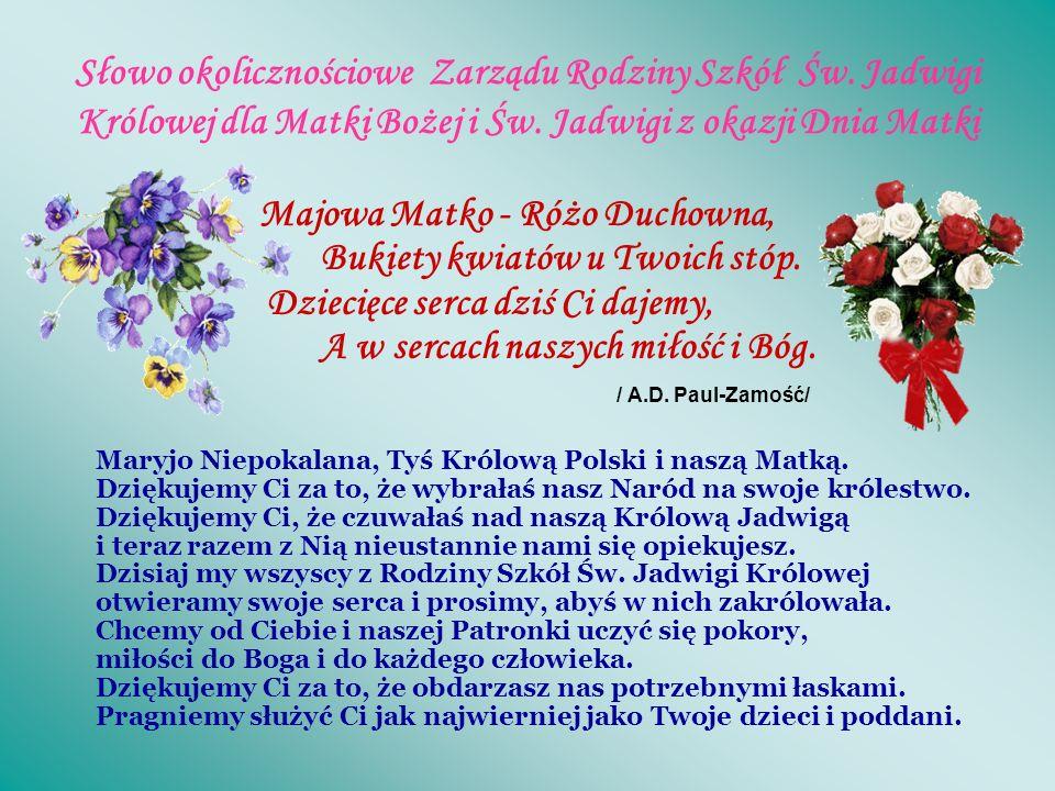 Dzień Matki na Jasnej Górze. W dniu 26.05.2008r. rano delegacja SP 29 i Gimnazjum 14 im.