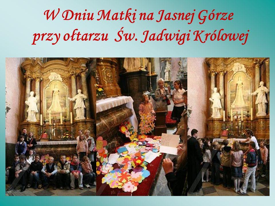 U stóp Matki Bożej Częstochowskiej