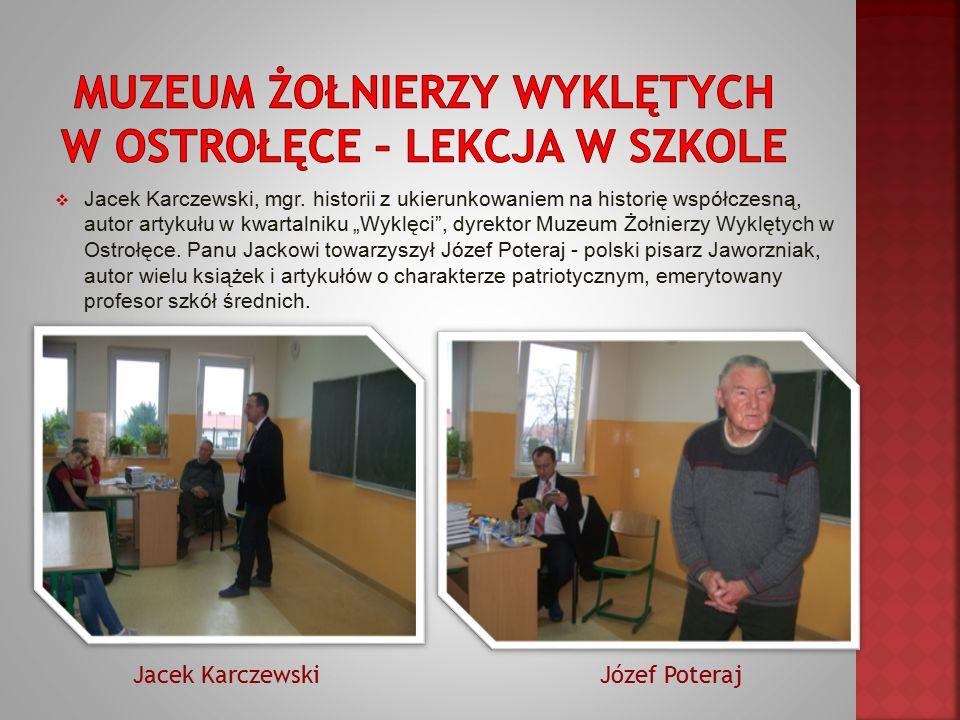  Jacek Karczewski, mgr.