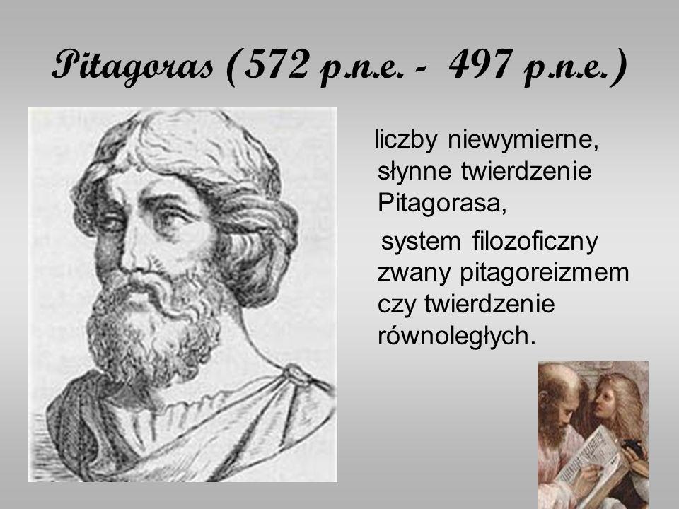 Pitagoras (572 p.n.e.