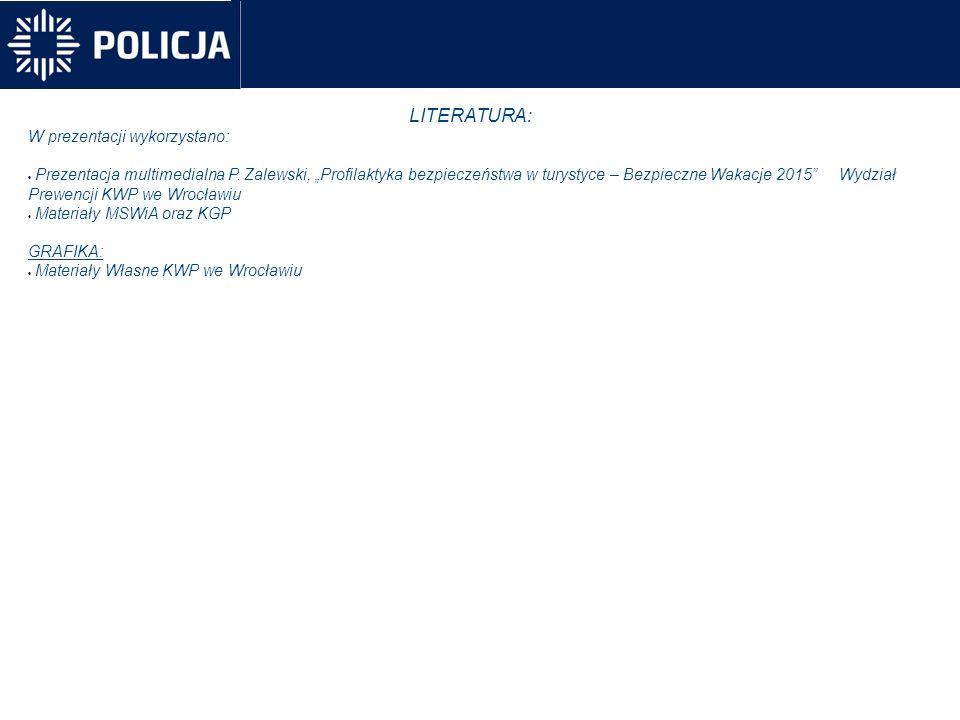 LITERATURA: W prezentacji wykorzystano:  Prezentacja multimedialna P.