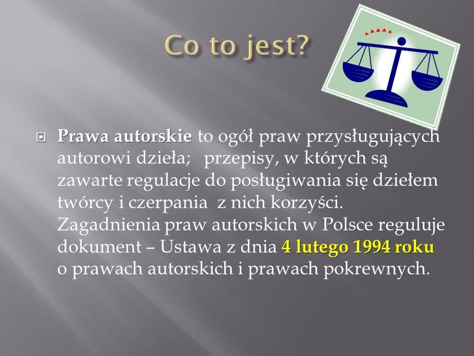  Ustawa – akt prawny o charakterze powszechnie obowiązującym.