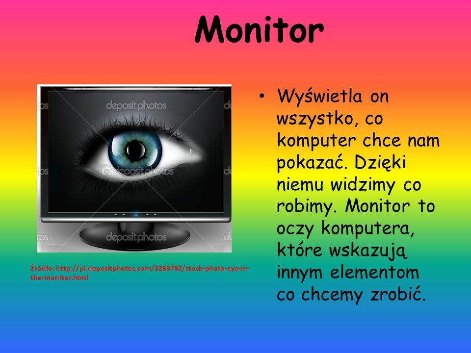 Klawiatura Jest to urządzenie, dzięki któremu wpisujemy informacje potrzebne naszemu komputerowi o wykonania wszelkich operacji.