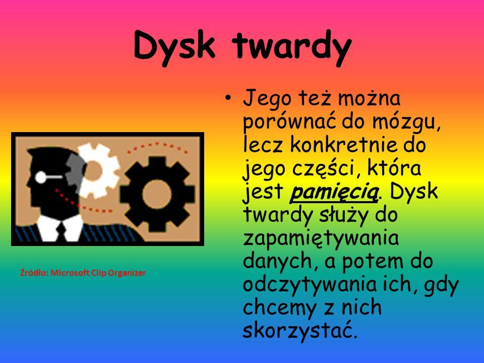 Źródło: http://3.bp.blogspot.com/- FG3RUmk8JA8/UqIWt2aX5WI/AAAAAAAAAkk/K 1I1uy4yYOU/s1600/dysk_twardy.jpg