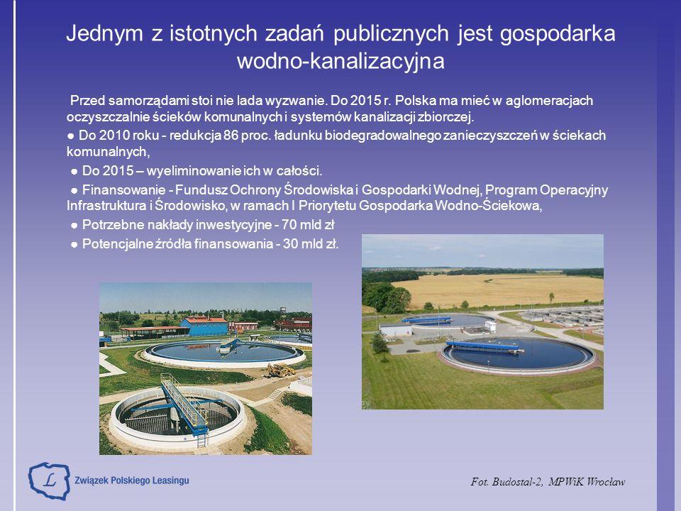 Jednym z istotnych zadań publicznych jest gospodarka wodno-kanalizacyjna Przed samorządami stoi nie lada wyzwanie.