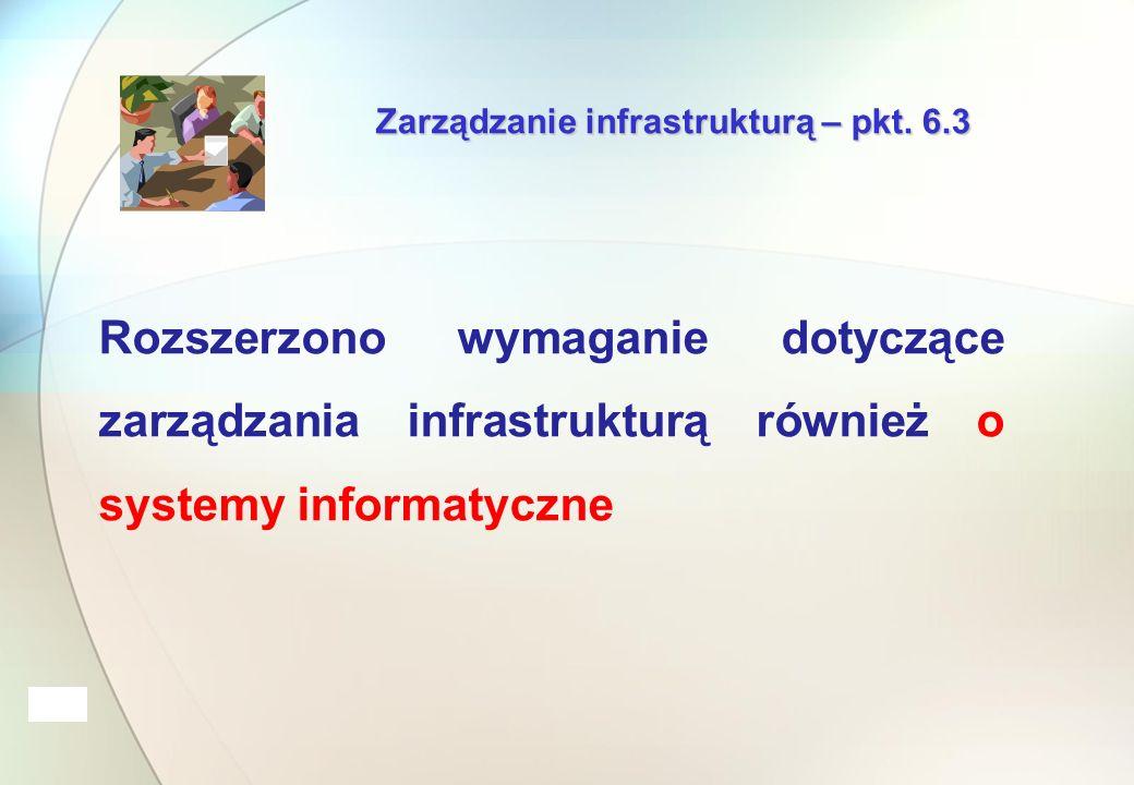 Zarządzanie infrastrukturą – pkt.