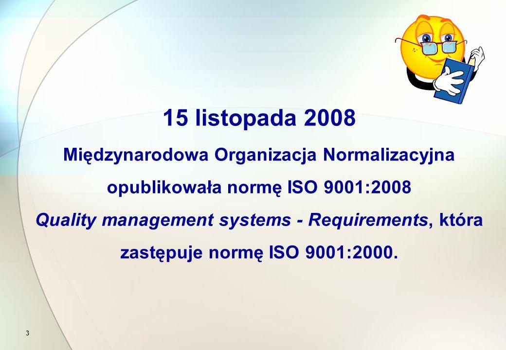 System zarządzania wg normy ISO 9001 może jedynie skutecznie pomóc w wykorzystaniu potencjału firmy, ale ona sama musi tego chcieć.