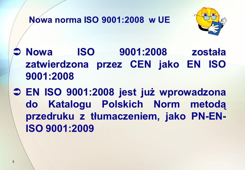 """3 Terminy i definicje Terminy i definicje niezbędne dla normy ISO 9001 są określone w normie ISO 9000  W przypadku gdy w normie ISO 9001 jest użyte określenie """"produkt , należy pod tym określeniem rozumieć także """"serwis"""