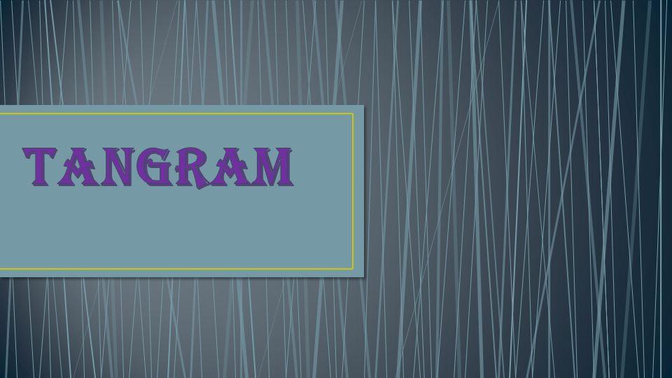 Tangram to chińska łamigłówka (układanka), znana od ok.