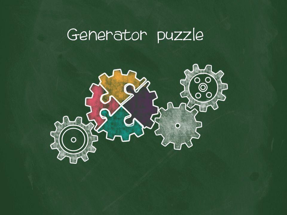 Generator puzzle