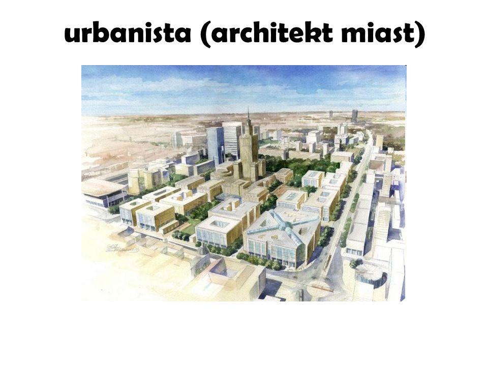urbanista (architekt miast)
