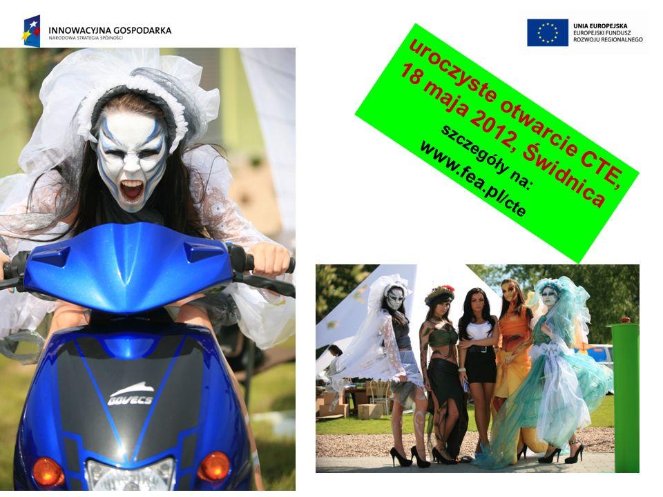 uroczyste otwarcie CTE, 18 maja 2012, Świdnica szczegóły na: www.fea.pl /cte