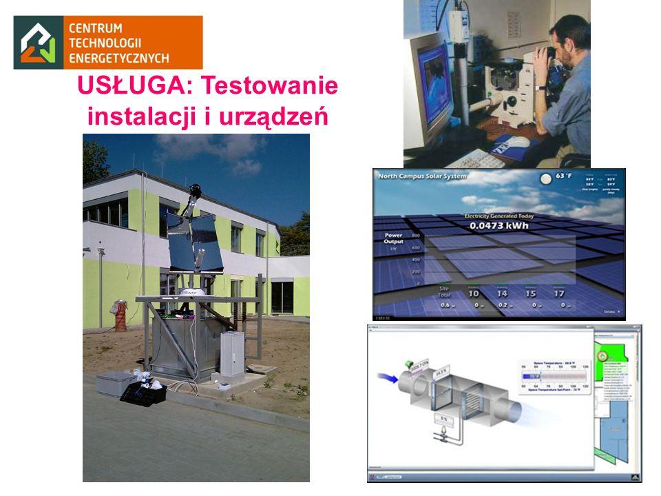 USŁUGA: Testowanie instalacji i urządzeń