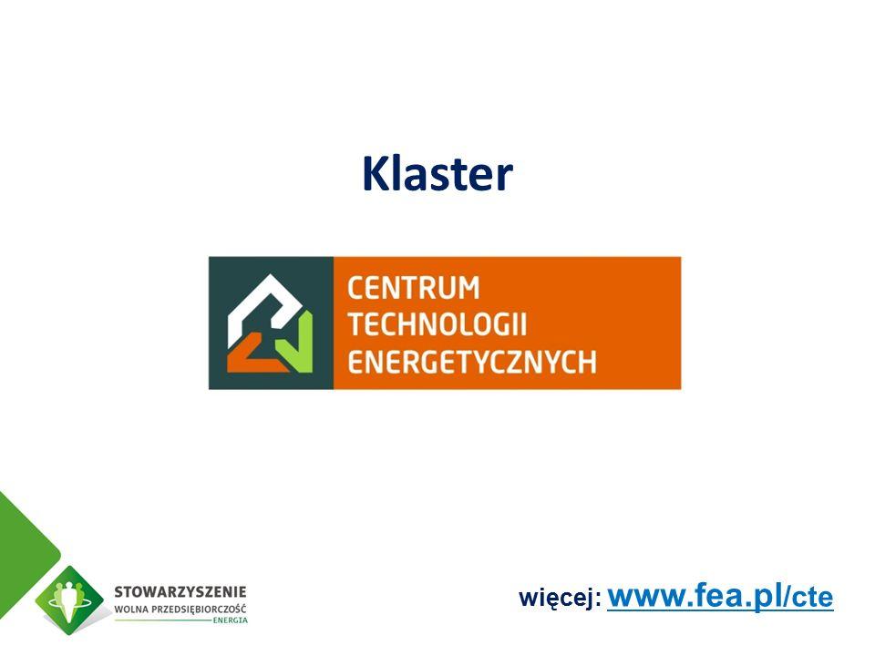 Klaster więcej: www.fea.pl /cte