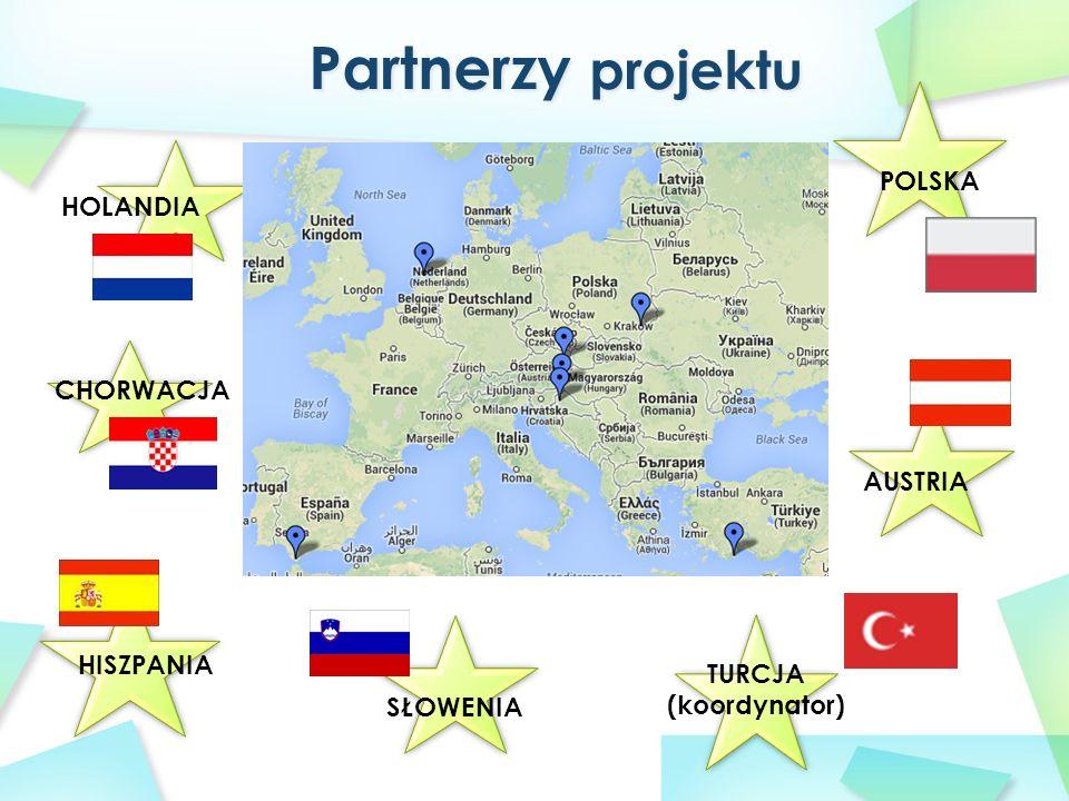 TURCJA (koordynator) POLSKA HOLANDIA SŁOWENIA CHORWACJA HISZPANIA AUSTRIA