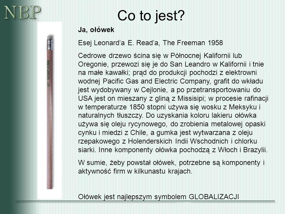 Co to jest. Ja, ołówek Esej Leonard'a E.