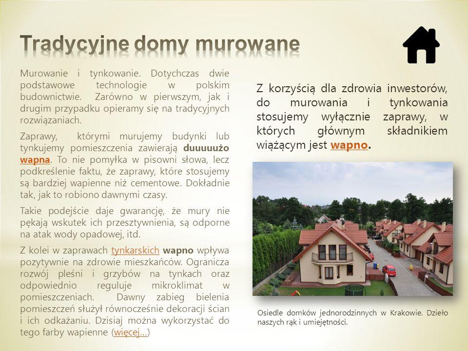 Murowanie i tynkowanie. Dotychczas dwie podstawowe technologie w polskim budownictwie. Zarówno w pierwszym, jak i drugim przypadku opieramy się na tra
