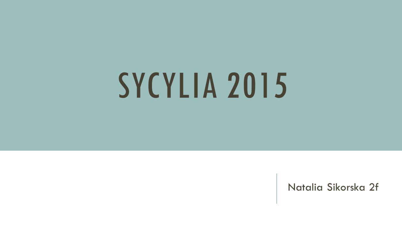 SYCYLIA 2015 Natalia Sikorska 2f