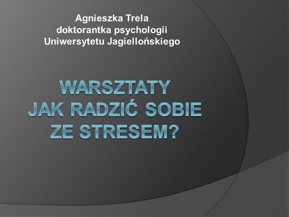 Agnieszka Trela doktorantka psychologii Uniwersytetu Jagiellońskiego