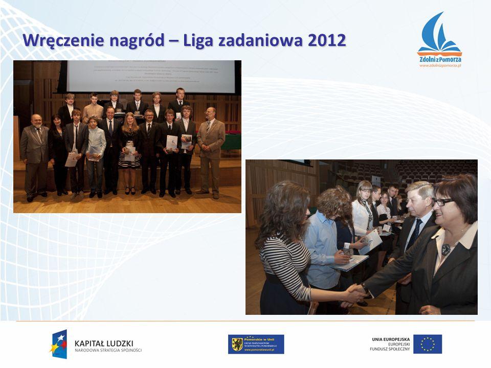 Wręczenie nagród – Liga zadaniowa 2012