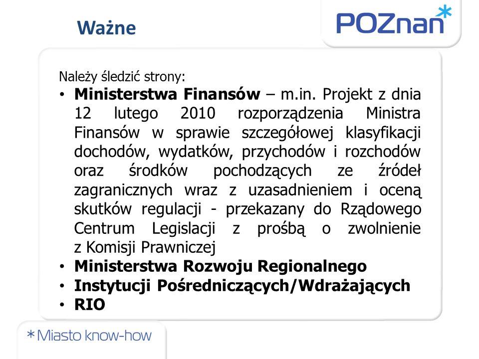 Należy śledzić strony: Ministerstwa Finansów – m.in.