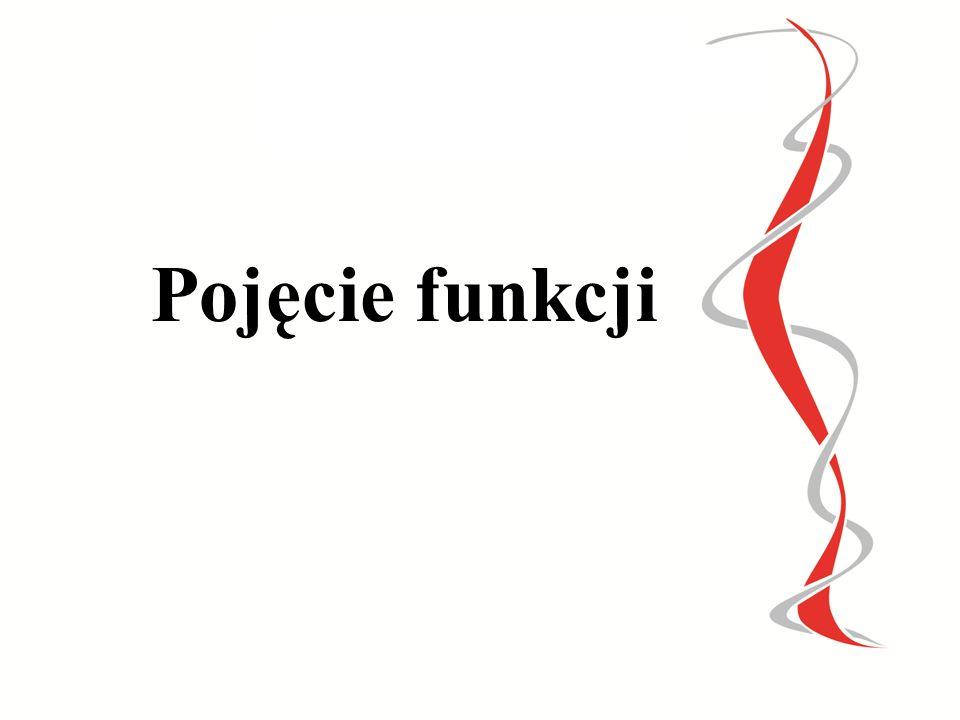 PREZENTACJA MULTIMEDIALNA Z MATEMATYKI POJĘCIE FUNKCJI Wykonała: mgr Małgorzata Krowicka