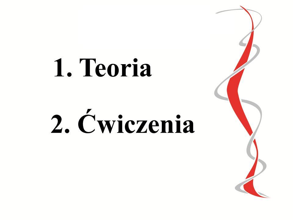 1. Teoria 2. Ćwiczenia