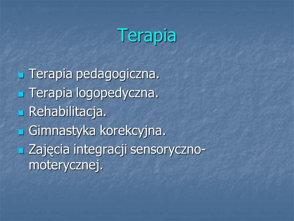 Terapia Terapia pedagogiczna. Terapia pedagogiczna.