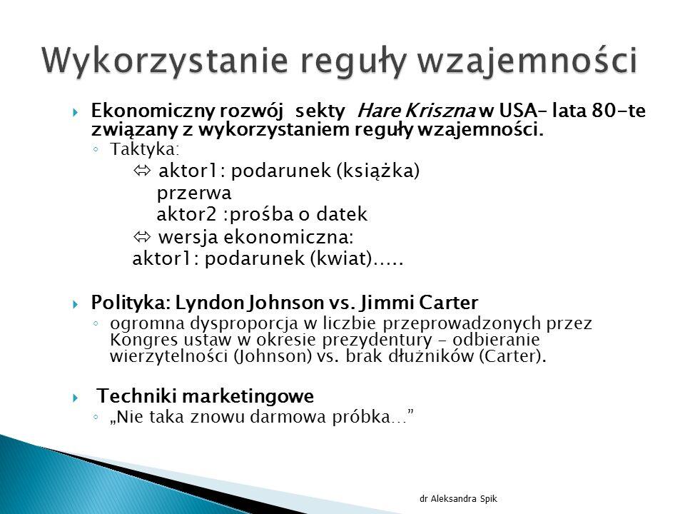 """ """"Najsłabszym ogniwem każdego systemu informatycznego jest człowiek dr Aleksandra Spik"""