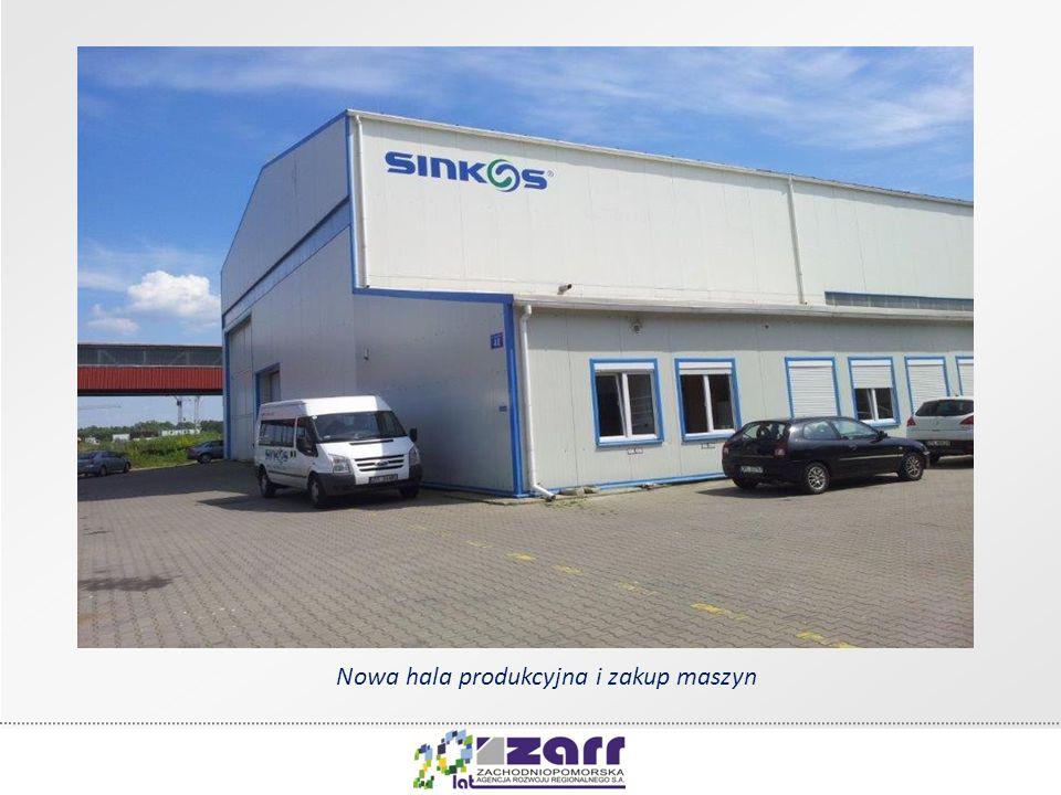 Nowa hala produkcyjna i zakup maszyn