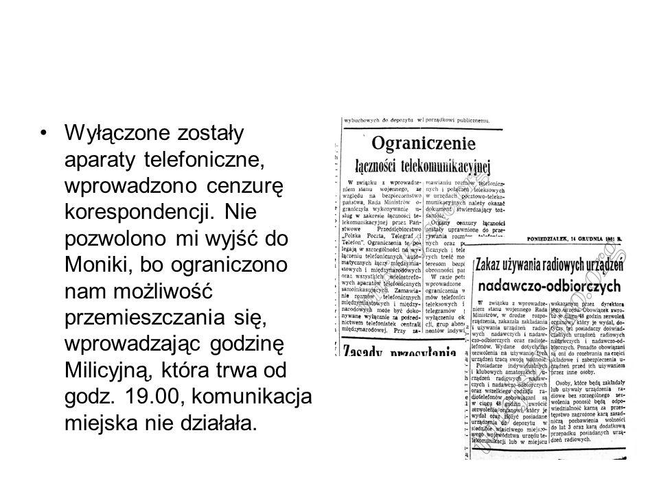 22 lipca 1983 rok Nareszcie!!!!.Po 586 dniach zniesiono stan wojenny w Polsce.