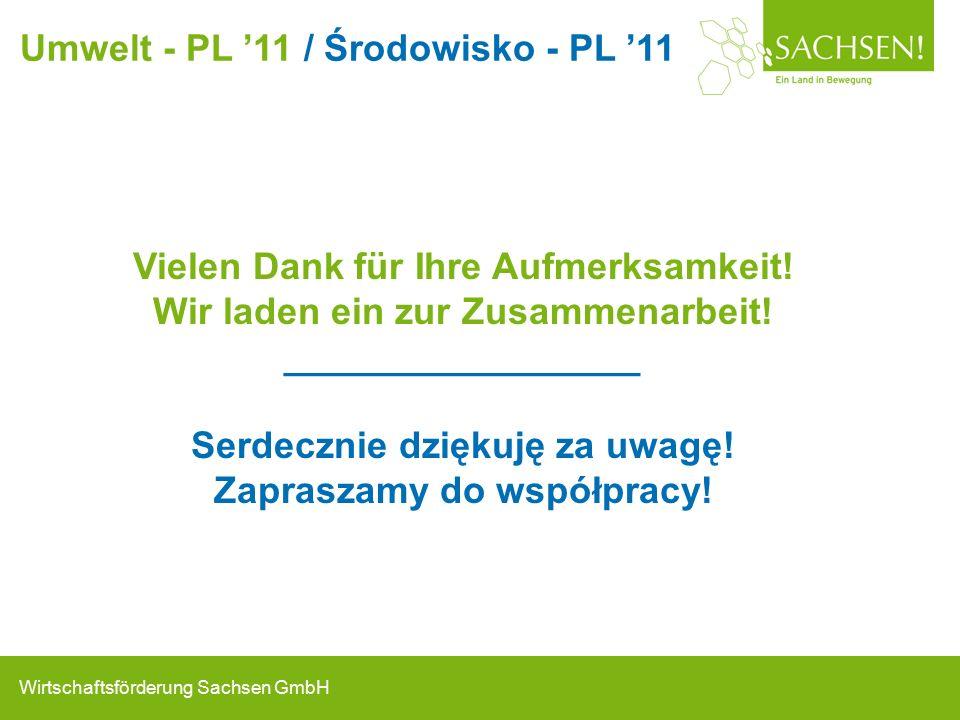 Wirtschaftsförderung Sachsen GmbH Vielen Dank für Ihre Aufmerksamkeit.