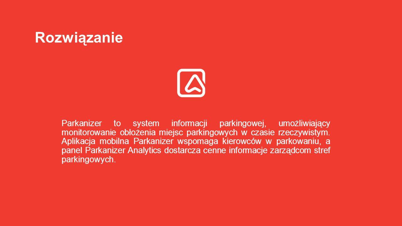 Parkanizer to system informacji parkingowej, umożliwiający monitorowanie obłożenia miejsc parkingowych w czasie rzeczywistym. Aplikacja mobilna Parkan