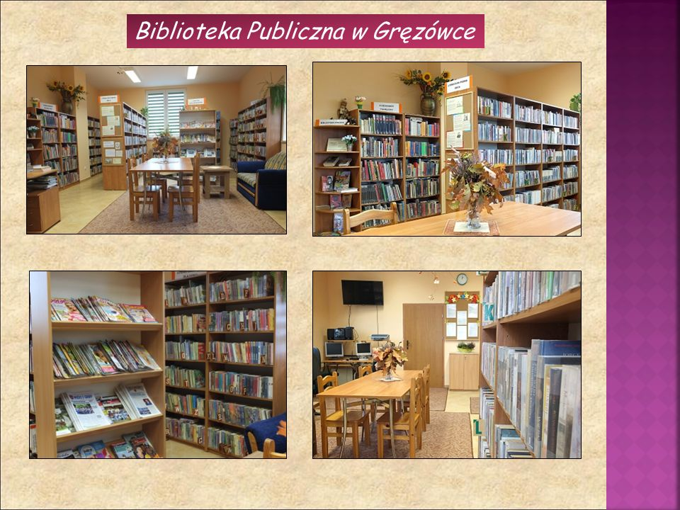 Biblioteka Publiczna w Gręzówce