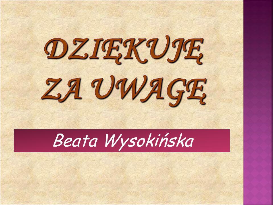 Beata Wysokińska