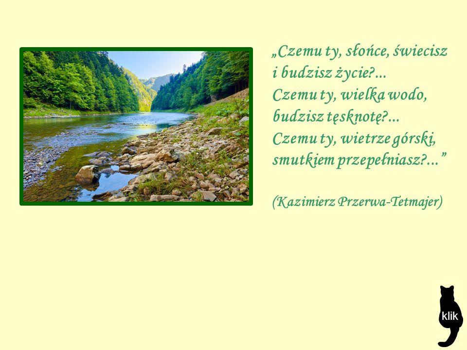 """""""Czemu ty, słońce, świecisz i budzisz życie?... Czemu ty, wielka wodo, budzisz tęsknotę?..."""