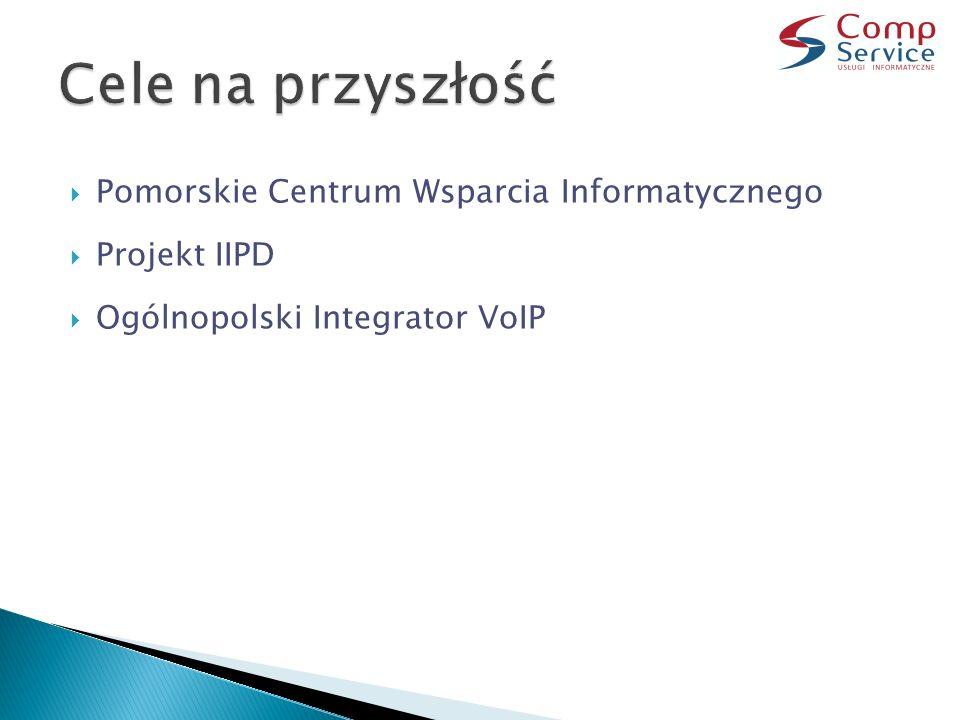  Pomorskie Centrum Wsparcia Informatycznego  Projekt IIPD  Ogólnopolski Integrator VoIP