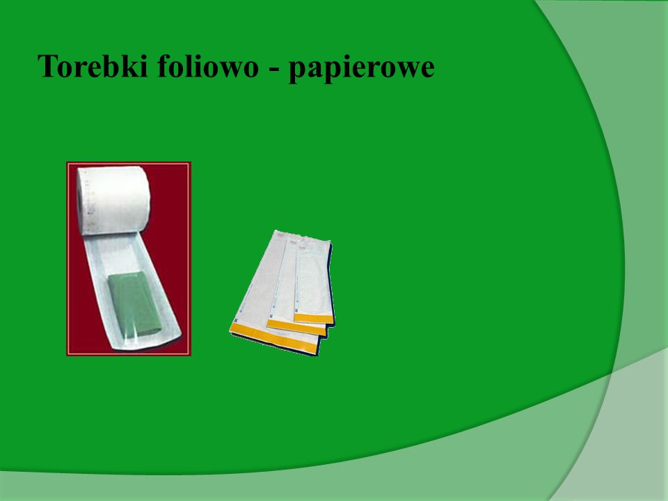 Torebki foliowo - papierowe