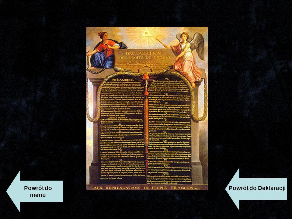 Powrót do menu Powrót do Deklaracji