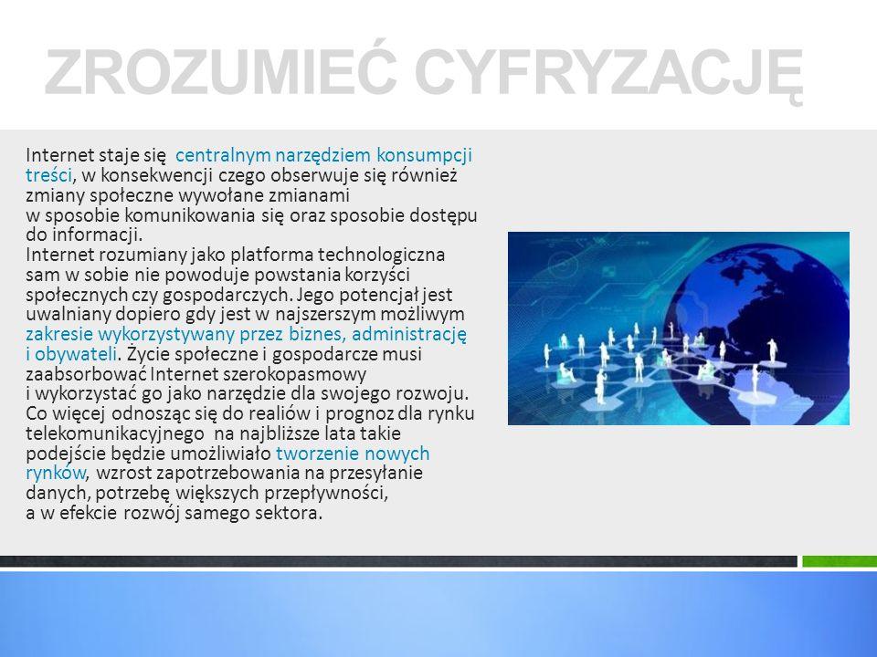 Europejska Agenda Cyfrowa Narodowy Plan Szerokopasmowy przyjęty przez Radę Ministrów 08.01.2014 r.
