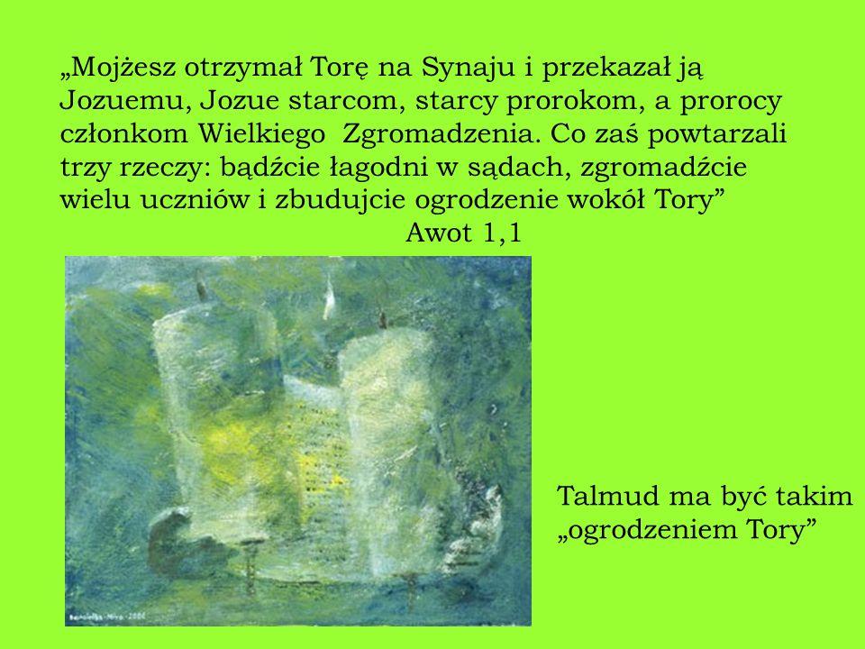 Właściwie istnieją 2 Talmudy: Babiloński i Palestyński