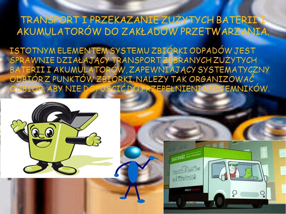 Co robić z zużytymi bateriami Baterie, szczególnie te jednorazowe, mają bardzo krótki żywot i niestety bardzo często trafiają na śmietnik.