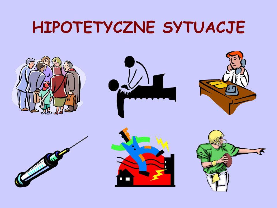 HIPOTETYCZNE SYTUACJE
